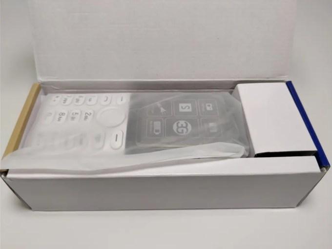 Samgle 3310 X 3G 化粧箱 開封