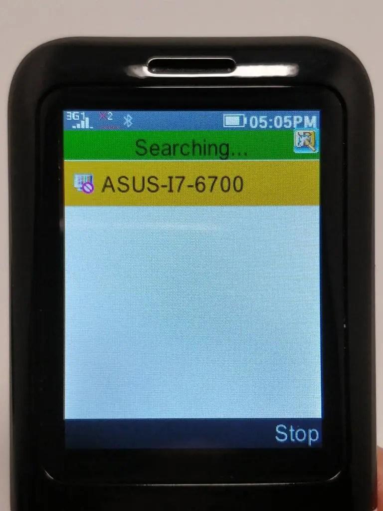 Samgle 3310 X 3G PCに接続できなかった。