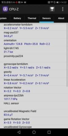 Huawei Mate 10 Pro CPU-Z6