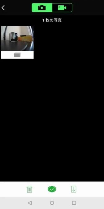 EKEN H6s アプリ 撮影画像