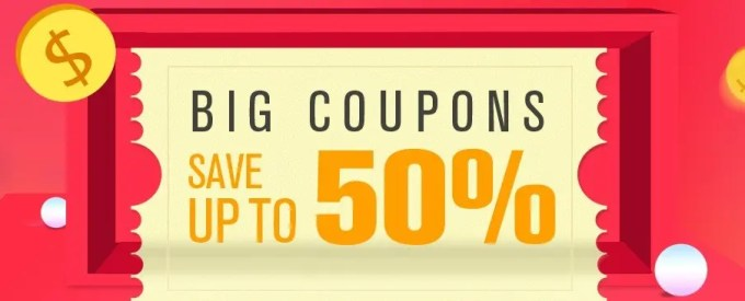 GeekBuying 春節セール 最大90%オフ 特設ページ クーポンページ