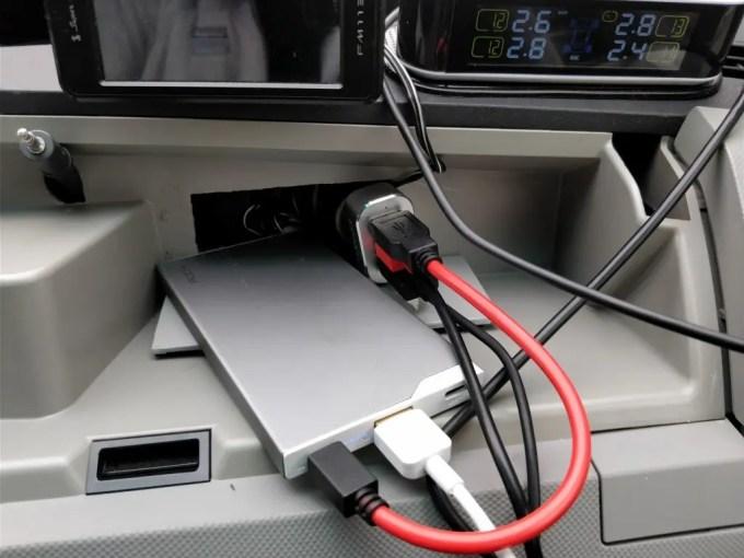 dodocool 3口 USBカーチャージャー シガーソケット 用途 バッテリー ズーム