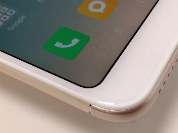 Xiaomi Redmi 5 Plus ディスプレイラウンド