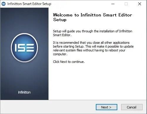 Infinitton 液晶キーボード アプリ インストール