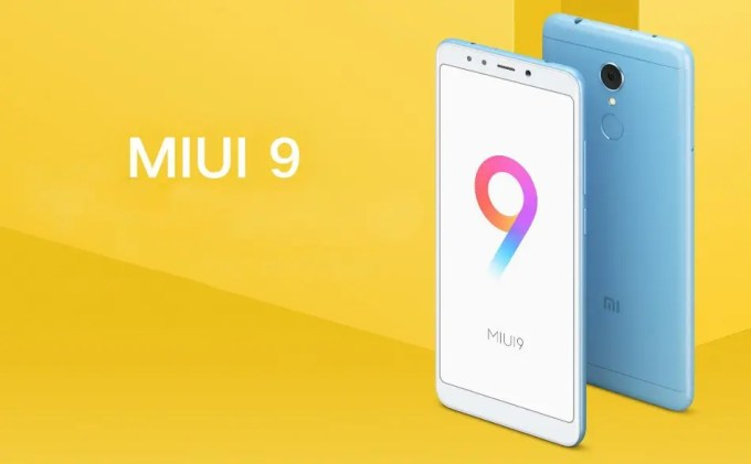 Xiaomi Redmi 5 Plus MIUI9
