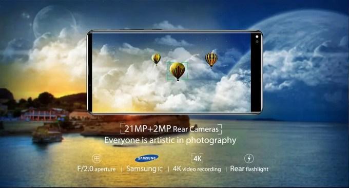 OKUKITEL MIX 2 商品画像 カメラ