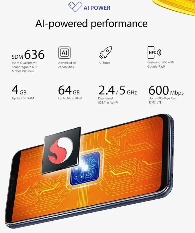 ASUS Zenfone 5 AIパワ