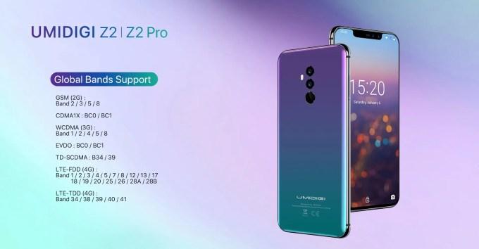UMIDIGI Z2|Z2 Pro デビュー2