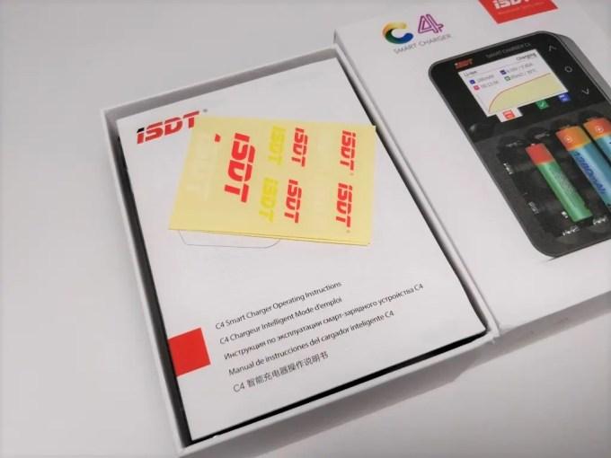 ISDT C4 8Aバッテリー充電器 化粧箱 開封