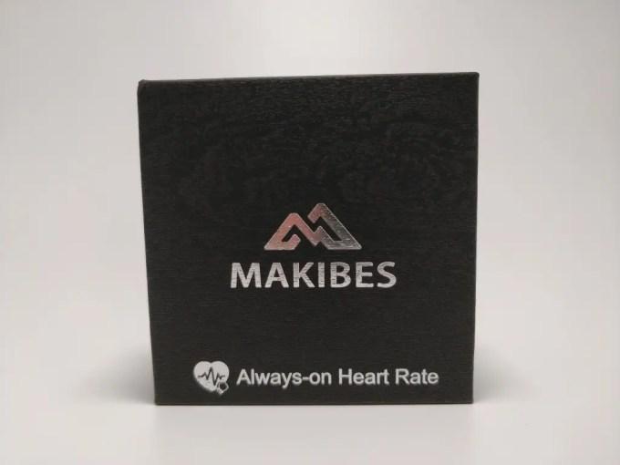 Makibes HR3 スマートバンド 化粧箱 表