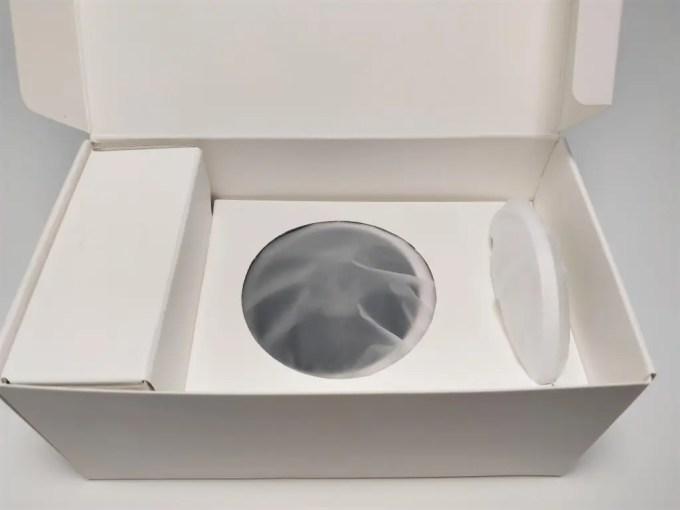Xiaomi Mijia Aqara 180度HD IPカメラ 化粧箱 開封2