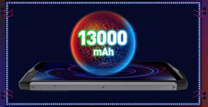 Ulefone Power 5 269.99ドル セール 13000mAh