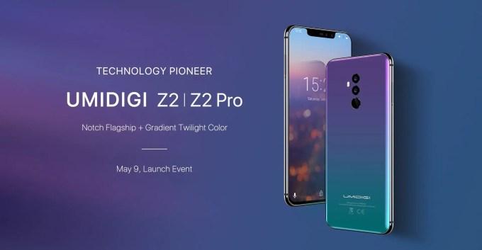 UMIDIGI Z2|Z2 Pro デビュー