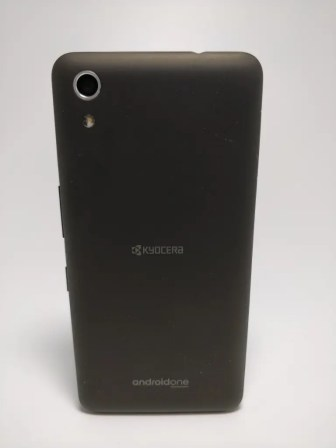 Android One S4 裏3