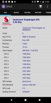 Pixel 2 XL CPU-Z2