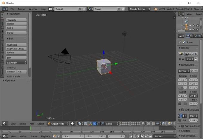 3DCGソフト Blenderを試してみる