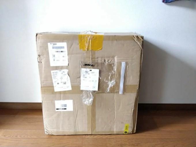 JGAURORA A5  梱包 DHL