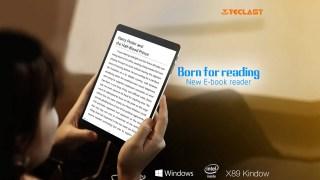 【読書用かな】7.5インチ中華パッドTeclast X89 Kindow Reader 開封の儀 レビュー