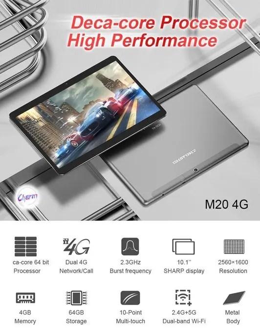 LTE中華タブレットTeclast M20