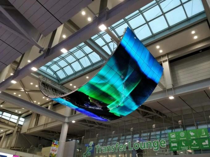 仁川国際空港 LG 有機EL