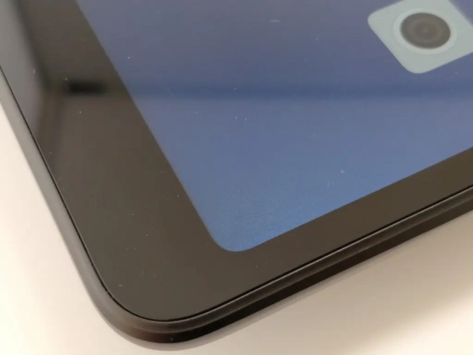 Xiaomi Mi Pad 4 Plus ディスプレイ面 プラパッキン 溝
