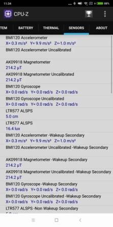 Xiaomi Mi Max 3 CPU-Z 7