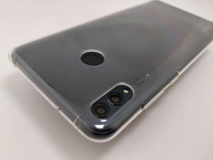 Huawei Honor 8X Max ソフトケース 上
