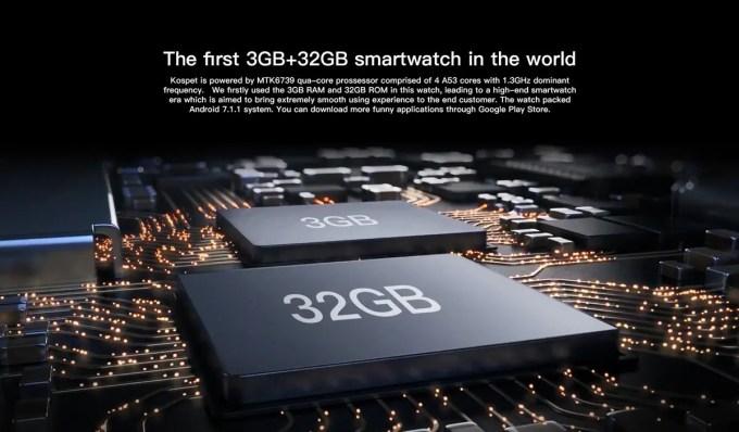 KOSPET HOPE メモリ3GB・ストレージ32GB
