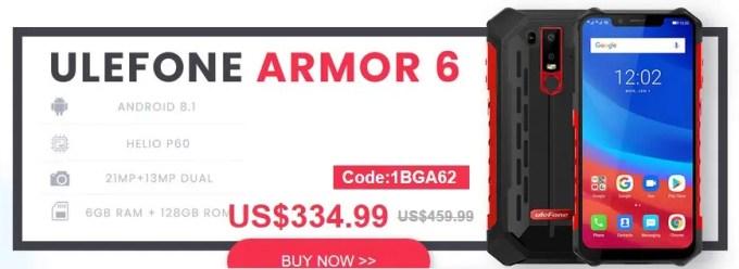 Banggood 最大65%オフ セール ARMOR 6