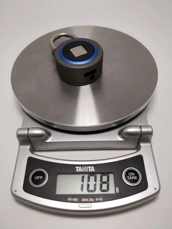 OKLOK Smart Lock 重量
