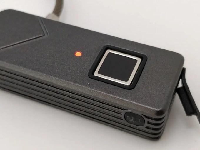Smart Fingerprint Keyless Padlock Portable エラー