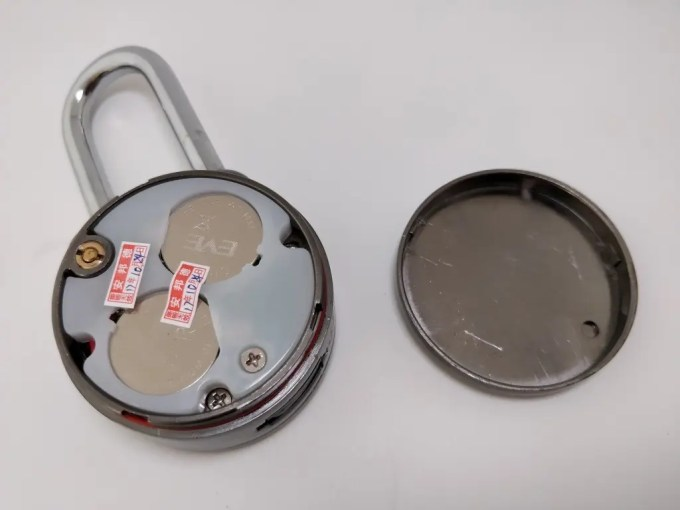 Bluetooth Smart Lock Anti Theft Alarm Lock ボタンバッテリー