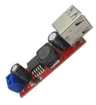 NEW Dual USB Output DC-DC Step Down Power Module 9V/12V/24V/36V to 5V USB 3A
