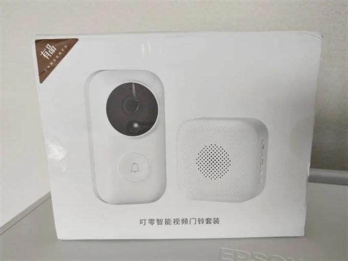 Xiaomi 電池駆動ナイトビジョンカメラ ドアベル 箱
