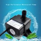 Low Noise QR30B DC 5V 2.3W 220L/H Waterproof IP68 CPU Brushless Water Pump GA