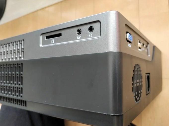 AUN M18 プロジェクター MicroSD