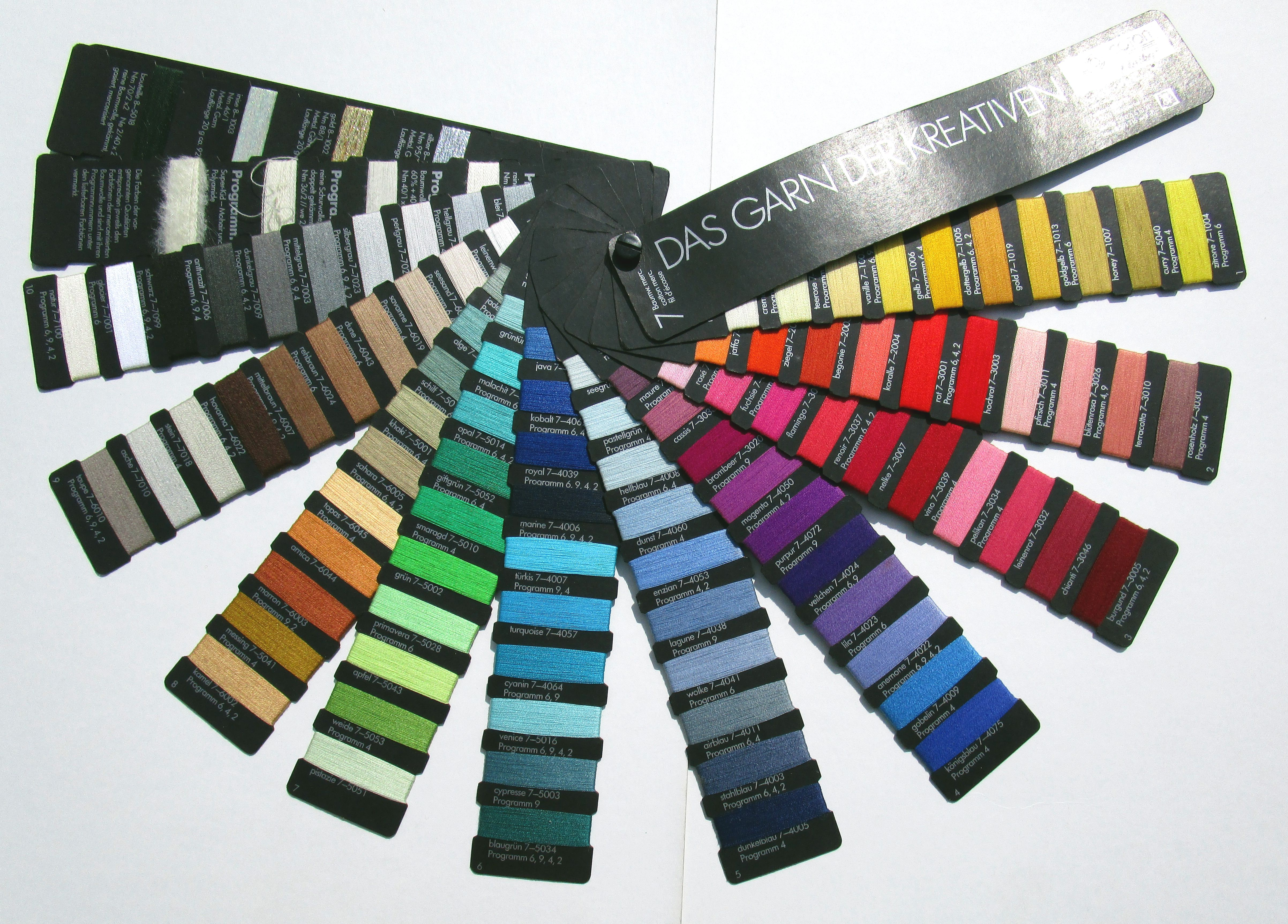 Farbfächer 1