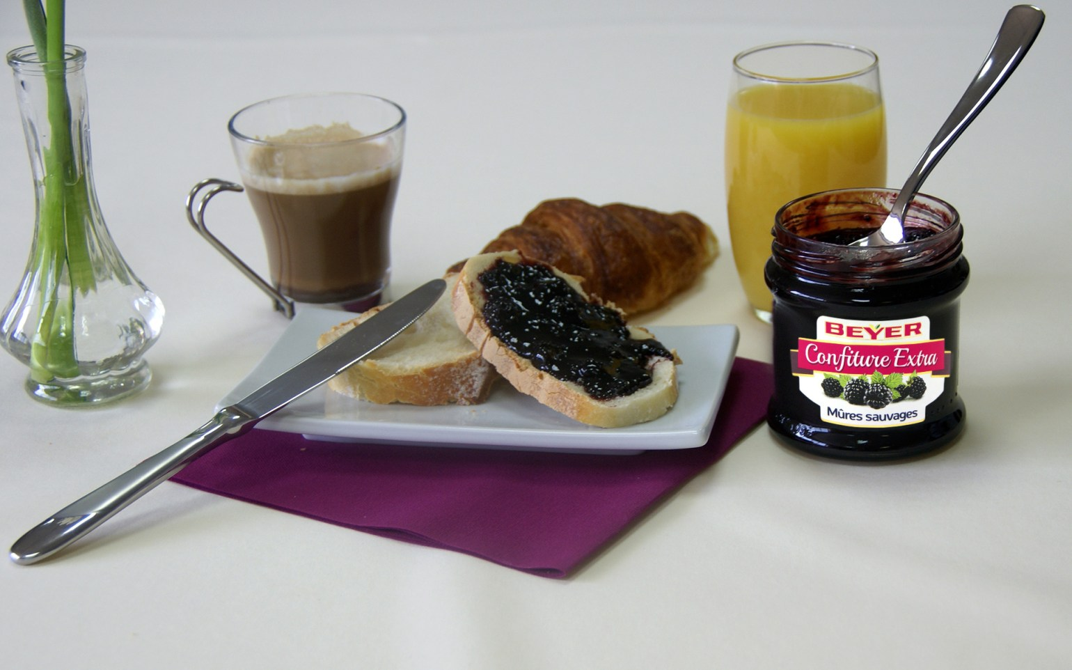 Confiture Extra Mûres sauvages 370g