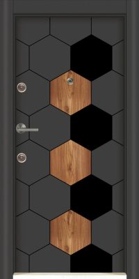 Usa Star Doors – Seria Avangard Laminox – Model SE-5803