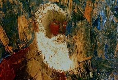 Self-portrait as an old man