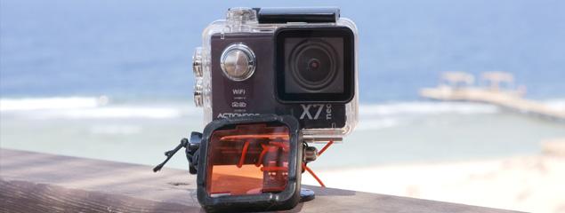 Actionpro X7neo für Unterwasserfilm getestet