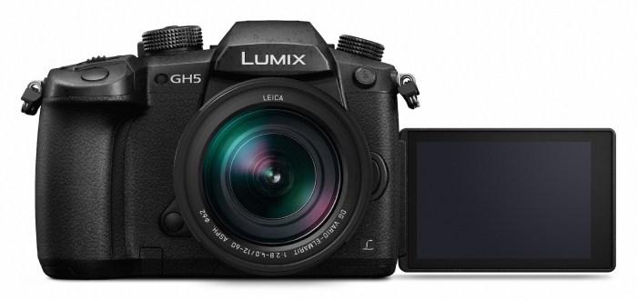 Panasonic Lumix GH5 Ansicht von vorne