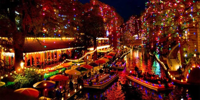 the riverwalk where you can find san Antonio cougars