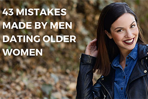 Younger men dating older women make these mistakes