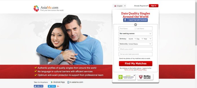 Main page for ChnLove.com