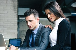 Many guys want to know how to tell if a girl likes you at work and miss obvious signs