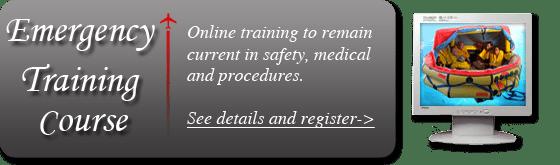 emergency training corporate flight attendants online