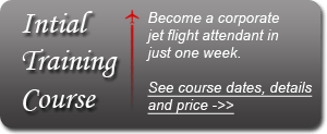 corporate Flight attendant training - private jets