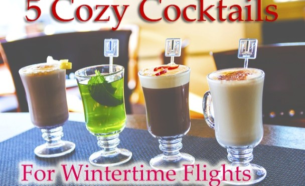 Wintertime Cocktail Recipes for Private Jet Flight Attendants