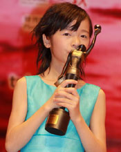 Xu Jiao wins Best New Performer for her crossdressing role in CJ7